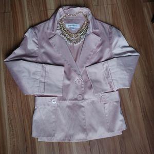 Jackets & Blazers - Season wind blazer pink sleeve 3/4
